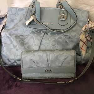 Coach Ashley Shoulder Bag, NWT